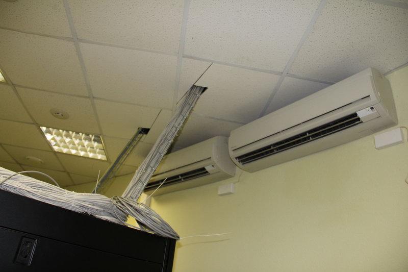 Кондиционеры в серверных помещениях банка