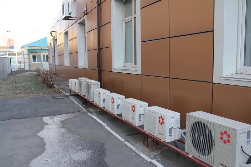 Наружные блоки кондиционеров не портящие фасад